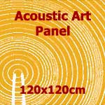 Acoustic Art Panel: Sized 120by120cm