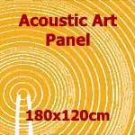 Acoustic Art Panel: Sized 180by120cm