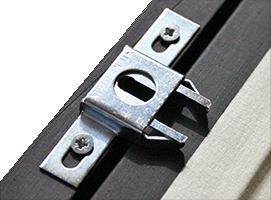 Anti Theft For Wooden Picture Frames Springlock Fixings 1 X Pair