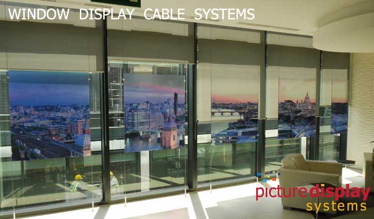 Window Display Cable Systems